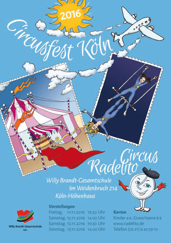 Plakat Circusfest Köln 2016