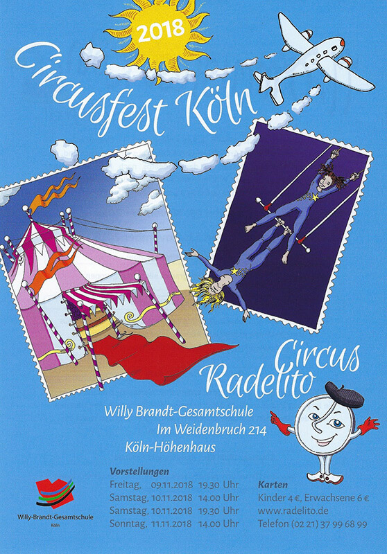 Plakat Circusfest Köln 2018