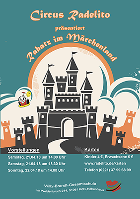 Plakat Premiere Radelito 2018