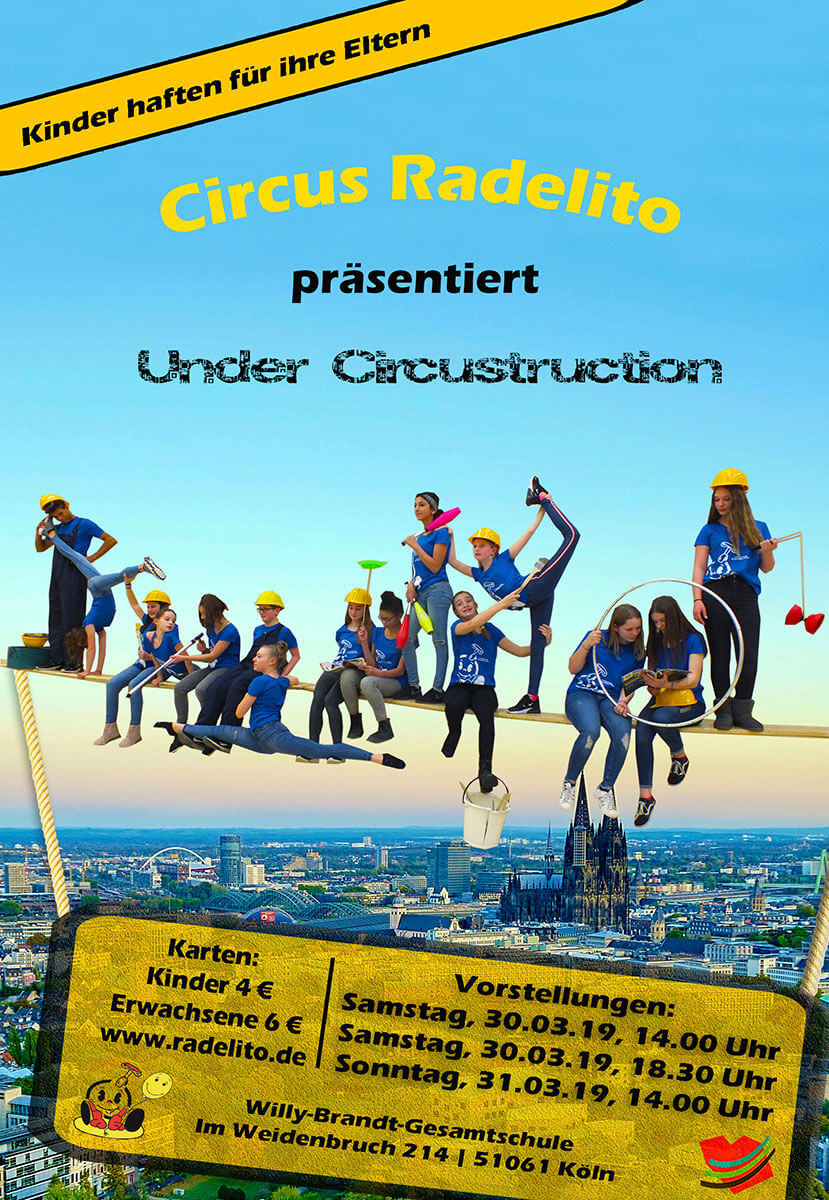 Plakat Premiere 2019 Under Circustruction