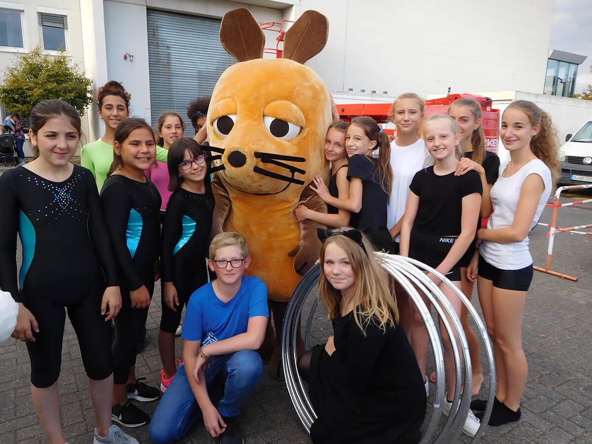 Radelito beim WDR Kinderfest mit der Maus
